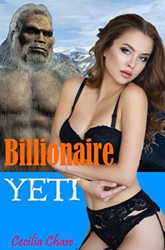 Billionaire Yeti: A BBW Paranormal Alpha Romance Book Cover